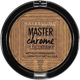 Maybelline makeup 200 Molten Topaz Master Chrome Metallic Face Highlighter