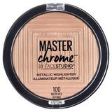 Maybelline makeup Molten Gold Master Chrome Metallic Face Highlighter