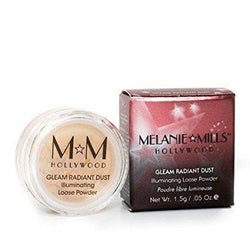 Melanie Mills makeup Gleam Radiant Dust