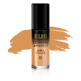 milani Make-Up 09 Tan Conceal Perfect 2 in 1 Foundation + Concealer