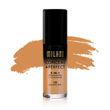 milani Make-Up 10 Golden Tan Conceal Perfect 2 in 1 Foundation + Concealer