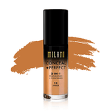milani Make-Up 11 Amber Conceal Perfect 2 in 1 Foundation + Concealer