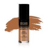 milani Make-Up 12 Spiced Almond Conceal Perfect 2 in 1 Foundation + Concealer