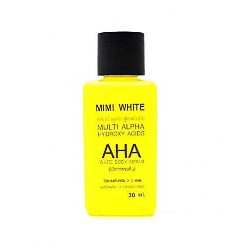Mimi White AHA Whitening Body Serum