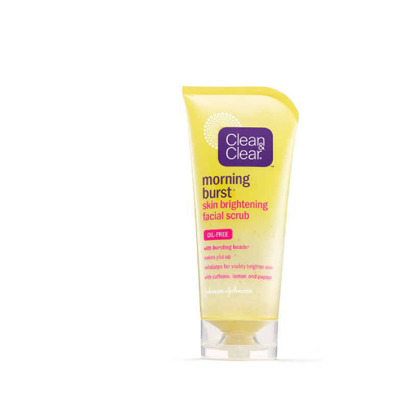 Clean & Clear Morning Burst Skin Brightening Facial Scrub - Lami Fragrance