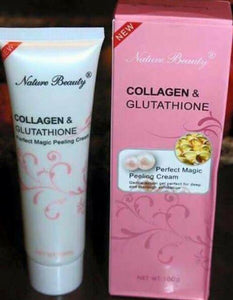 Nature Beauty Skin Care Collagen and Glutathione Peeling Cream 100g