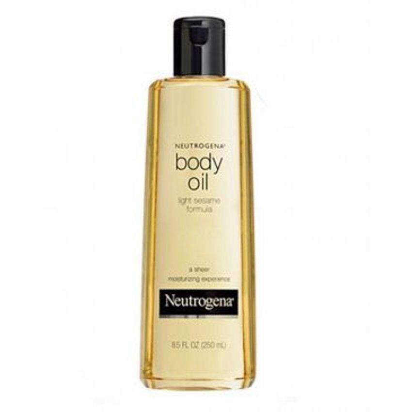 Neutrogena Skin Care Body Oil Light Sesame Formula - 250ml
