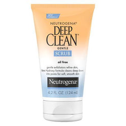 Neutrogena Skin Care Deep Clean Gentle Facial Scrub 124ml