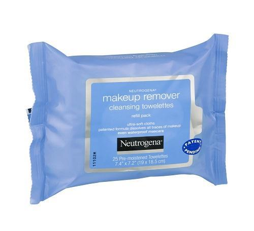 Neutrogena Skin Care Makeup Remover Cleansing Towelettes