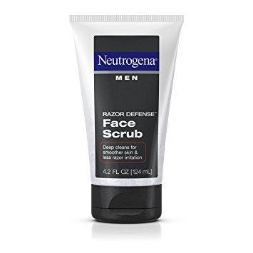 Neutrogena Skin Care Men Razor Defense Face Scrub - 124ml