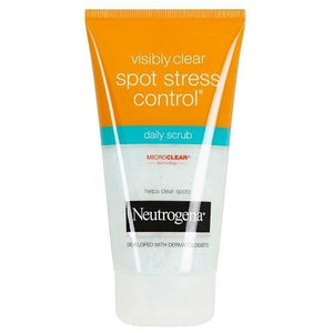 Neutrogena Skin Care Visibly Clear Spot Stress Control Daily Scrub