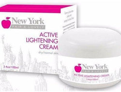 New York Fair & Lovely Skin Care Active Lightening Cream - 100ml