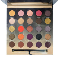 Nuban Beauty Make-Up Intensified Eyeshadow Palette