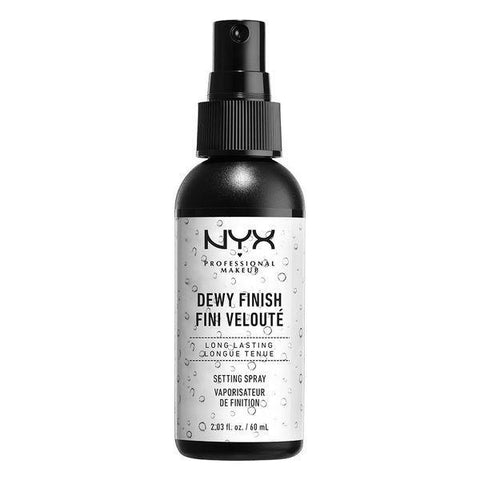 NYX makeup Dewy Finish Setting Spray