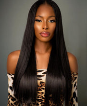Load image into Gallery viewer, 22inch Silky Straight Yaki Human Hair (2 Bundle)