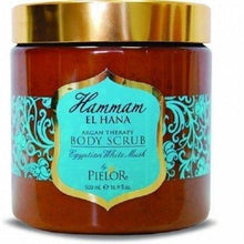 Load image into Gallery viewer, Pielor Skin Care Egyptian White Musk Hammam El Hana Argan Therapy Body Scrub - 500ml