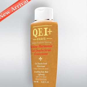 QEI Scrubbing Lightening Body Wash with Carrot Extract 500ml