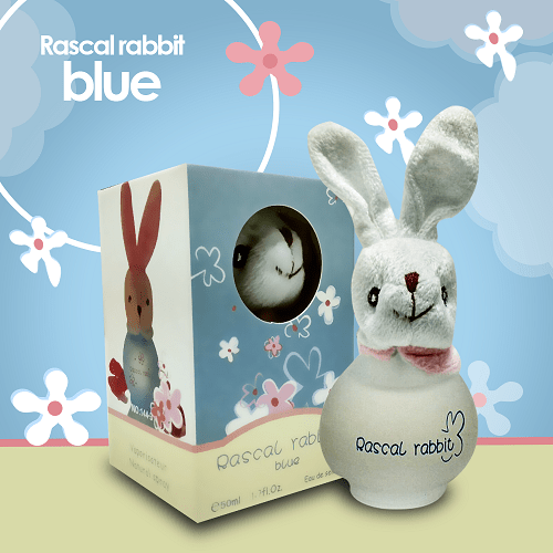 Rascal Rabbit Perfume Blue Perfumes for Kids - 50ml