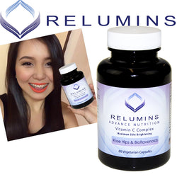 Relumins Advance Nutrition Vitamin C Max Skin Whitening Complex with Rose hips and Bioflavonoids