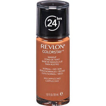 Load image into Gallery viewer, Revlon Make-Up Capuccinno ColorStay Makeup Foundation For Normal/Dry Skin