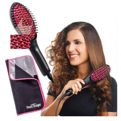 Simply Straight Hair Care Ceramic Straightening Brush