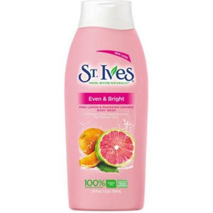 St. Ives Bath and Body Even & Bright Body Wash 709ml