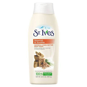 St. Ives Skin Care Oatmeal and Shea Butter Body Wash - 709ml
