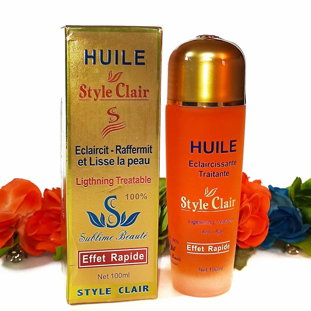 Huile Style Clair Lightening Oil | Lami Fragrance