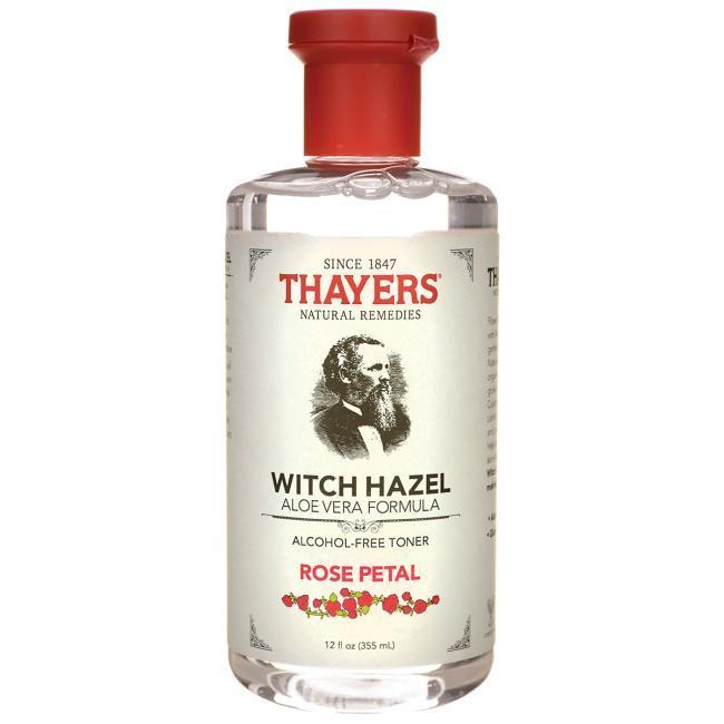 Thayer Skin Care Alcohol-free Rose Petal Witch Hazel Toner with Aloe Vera