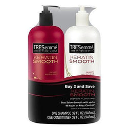 Tresemme Hair Care Keratin Smooth Shampoo And Conditioner - 946ml Each