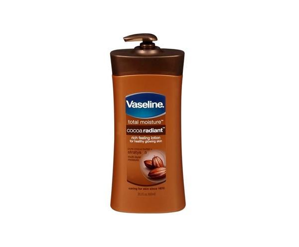 Vaseline Skin Care Total Moisture Cocoa Radiant Lotion 600ml