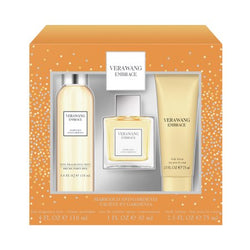 Vera Wang Embrace Marigold & Gardenia EDT Gift Set, 3 pc