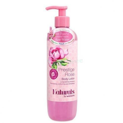 Watsons Skin Care Naturals by Watsons Prestige Rose Body Lotion - 490ml