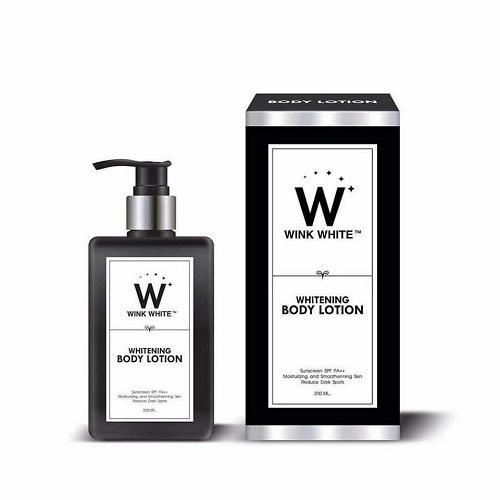 Wink White Skin Care Whitening Body Lotion 200ml