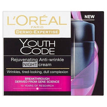 Load image into Gallery viewer, Youth Code Programme Rejuvenating Anti-Wrinkle Night, Day & Eye Cream