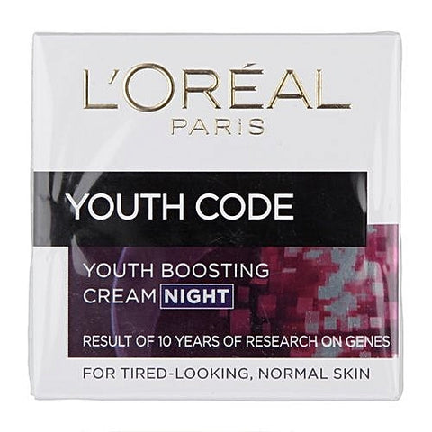 L'Oreal Youth Code Youth Boosting Night Cream