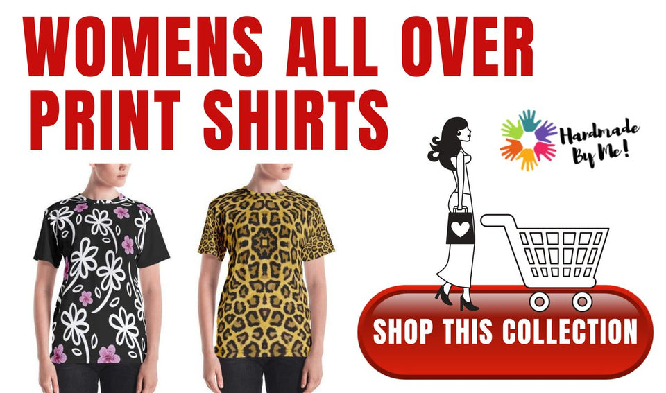 WOMENS ALL OVER PRINT SHIRTS