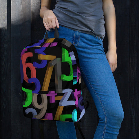 Figures All Over - Backpack - KICKI´S SHOP
