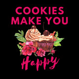 Cookies Make You Happy - Women´s T-Shirt - KICKI´S SHOP