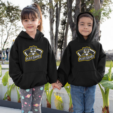 Cool Kids Play Games - Kids Hoodie - KICKI´S SHOP