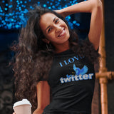 I Love Twitter - Women's T-Shirt - KICKI´S SHOP