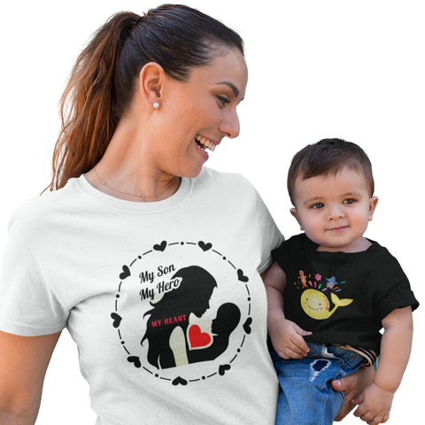 My Son My Hero My Heart - Women´s T-Shirt - KICKI´S SHOP