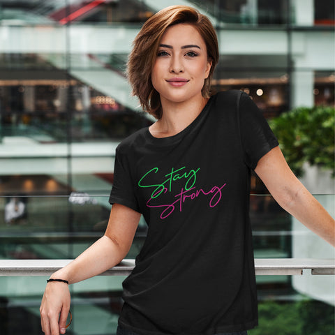 Stay Strong - Women´s T-Shirt - KICKI´S SHOP