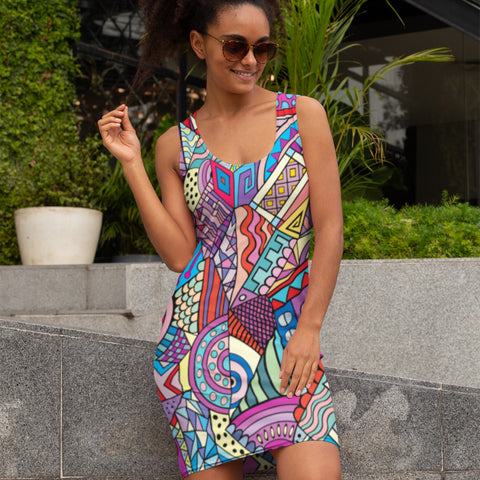 Wild Pattern - Dress India - KICKI´S SHOP