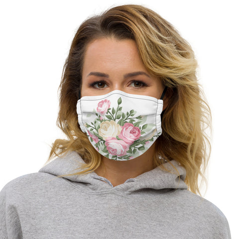 Flower All Over Print - Face Mask - KICKI´S SHOP