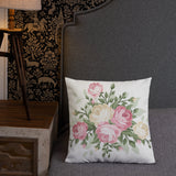 Flower All Over Print -  Pillow - KICKI`S SHOP
