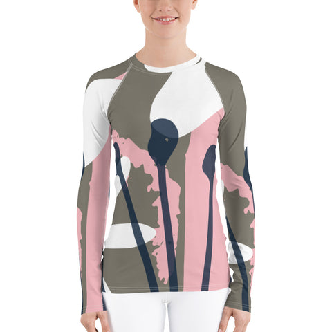 Pink Dream All Over - Women's Long Sleeve - KICKI´S SHOP