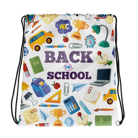 Back To School - Drawstring Bag - KICKI´S SHOP