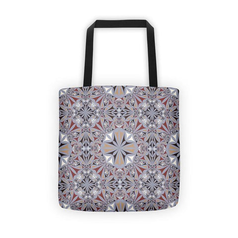 Playful Triangle All Over - Tote Bag - KICKI´S SHOP