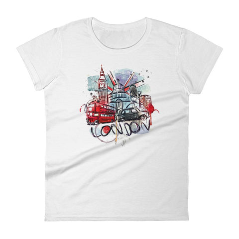 London - Women's T-Shirt - KICKI´S SHOP